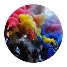 Кольоровий дим (димові шашки)