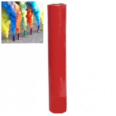 Кольоровий дим для фотосесії червоний ДК-60s (димова шашка): час роботи 60 сек.