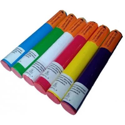Набір кольорового диму для фотосесій ДК-60S (кольори: синій, зелений, білий, червоний, жовтий, фіолетовий)